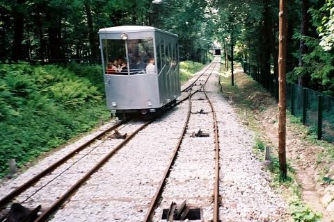 Kolej linowo-terenowa, Góra Parkowa, Krynica-Zdrój.
