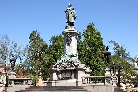 Pomnik Adam Mickiewicza, Warszawa.