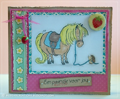 Paardje-kaartje
