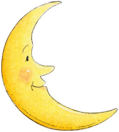 Dibujos de lunas - Dibujos de lunas infantiles ...