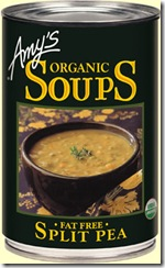 Amy's organics split pea soup