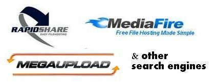 Rapidshare, Mediafire, Megaupload and other site search engines