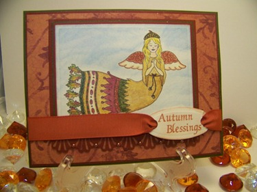 Autumn Blessings - Front View