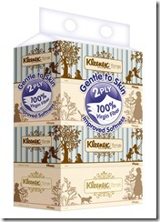 Kleenex Vintage Box Packs