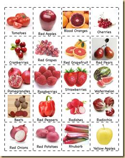 jogo da memória frutas