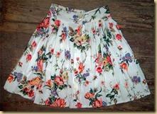 White Flower Skirt