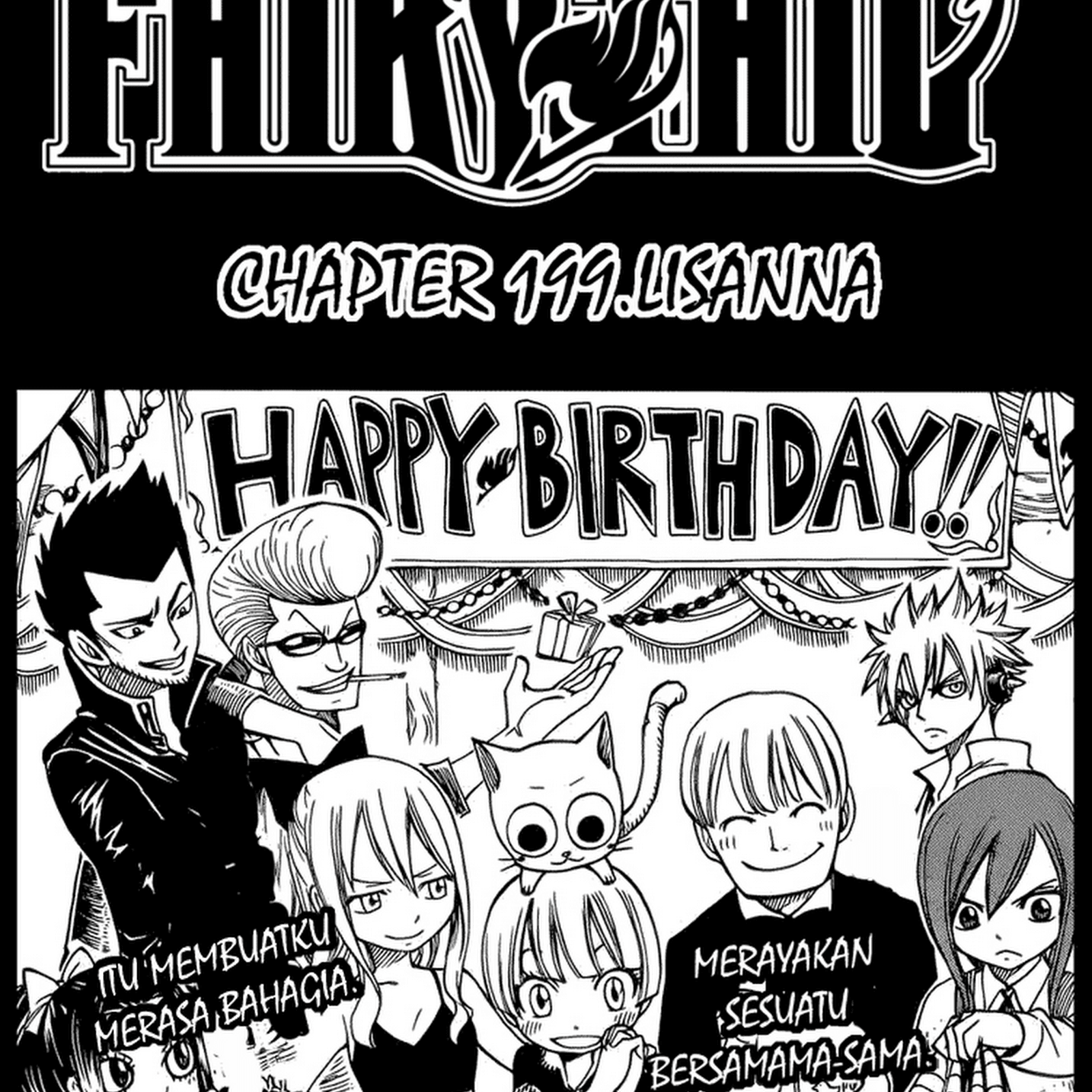 Manga Komik Fairy Tail 199 Bahasa Indonesia