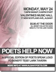 Poets Speak Loud - Poets Help Now