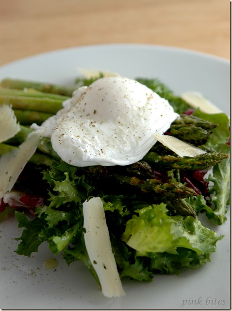 asparagus poached egg salad 2