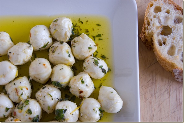 marinated mozzarella 1
