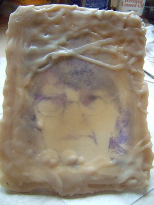 self portrait in wax