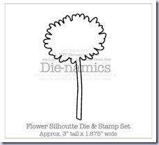 Flower Silhoutte Die-namicsSMALL