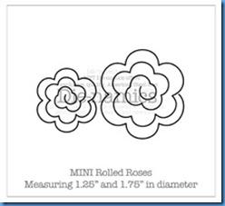 Mini Rolled Roses Die-namicsSM