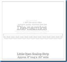 Little Open Scallop Strip Die-namics