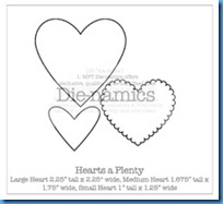 hearts a plenty Die-namicsSMALL