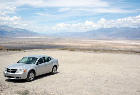Death Valley-View from Marble Canyon Parking Area