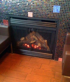 McDonald's Fireplace