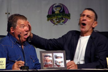 Dragon*Con 2009 William Shatner & Leonard Nimoy