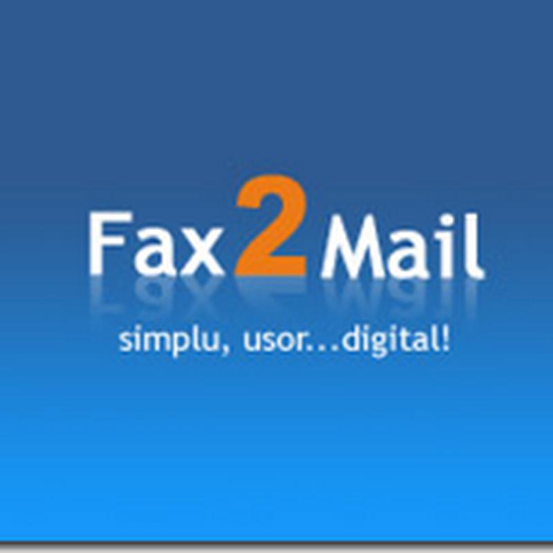 Cum pot primi gratuit faxuri pe adresa de email?