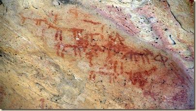 Conjunto principal de pinturas rupestres
