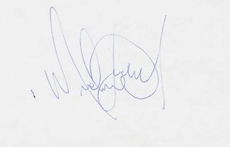 Autografo Michael1