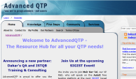 AdvancedQTP site