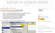QTP on Easy way to automate testing
