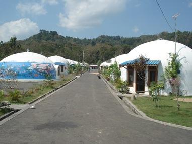 Rumah Dome - Rumah Anti Gempa