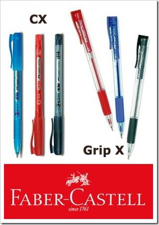 Grip X dan CX - Pena berteknologi tinta terbaru
