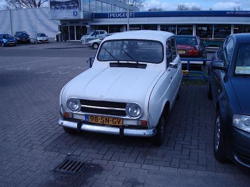 Merk en type: Renault 4 GTL