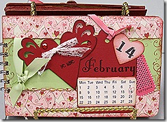 Front Cover of Valentine Book Project -  Feb 13, 2010