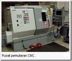 Mesin CNC bagian Pemutaran
