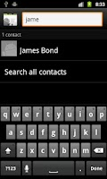 Screenshot of Share Contacts via SMS (Ads)