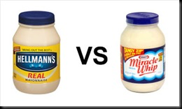 mayonnaise or miracle whip
