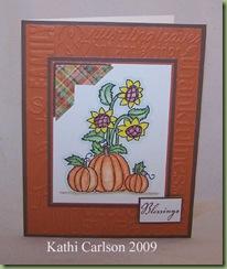Pumpkins & Sunflowers_Oct 2009
