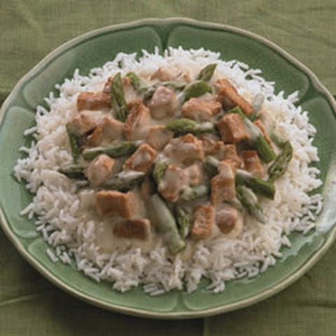 Turkey and Asparagus Rice Medley