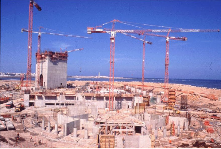 La grande mosqu e au maroc for Construction piscine rabat