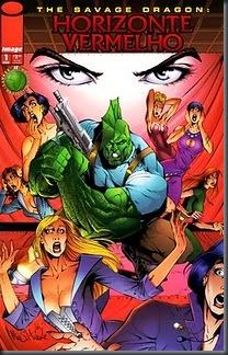 THE SAVAGE DRAGON - HORIZONTE VERMELHO #01