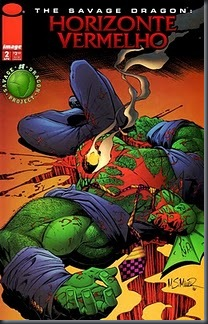 THE SAVAGE DRAGON - HORIZONTE VERMELHO #02