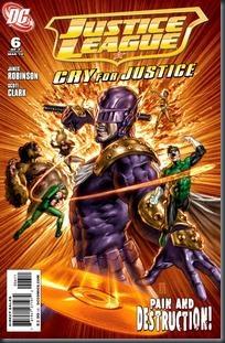 Liga da Justiça - Clamor por Justiça #06 (2010)