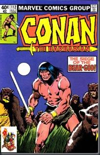Conan, O Bárbaro #112 (1980)