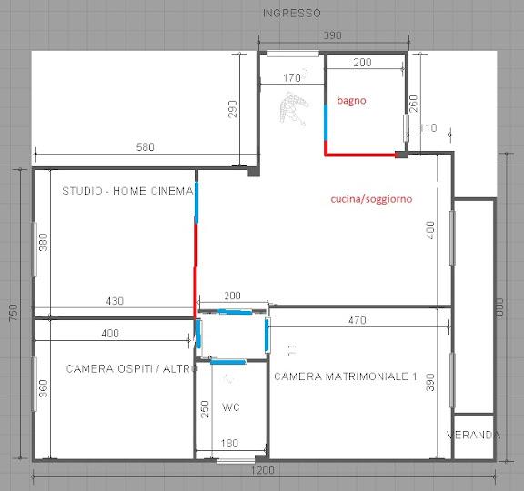 Forum idee per ristrutturare casa ex novo for Idee planimetria casa
