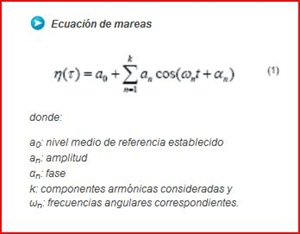 Ecuación de Mareas