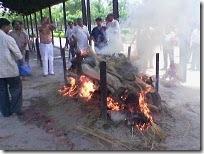 Basant cremation
