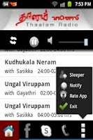 Screenshot of Thaalam FM