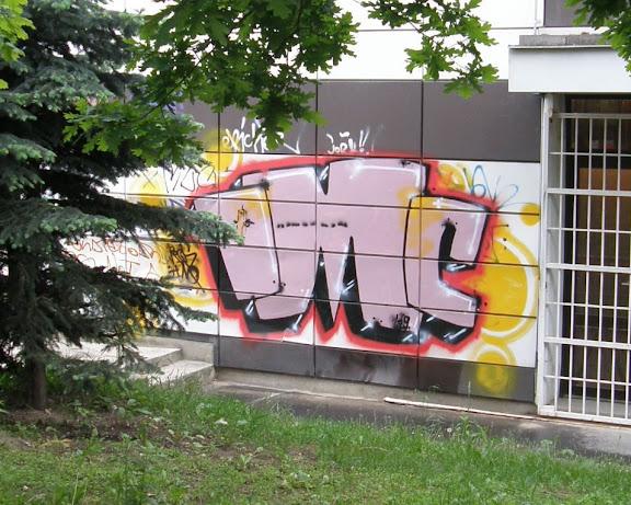 IMC, graffiti, tag, falfirka