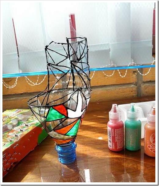 Подставки для цветов своими руками из пластиковых труб