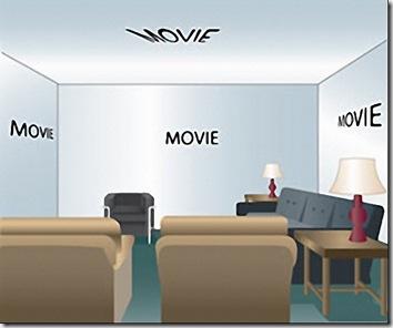 Plazma Ekran Oda Duvarları