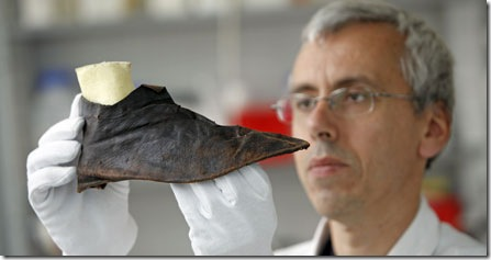 800 year old shoe
