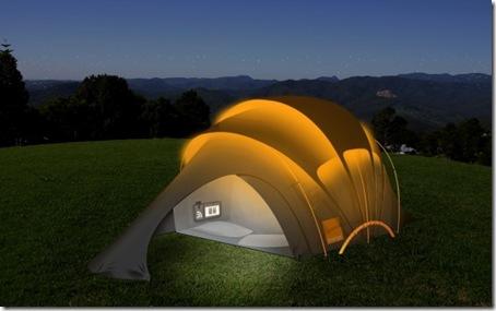 Glastonbury Solar Concept Tent